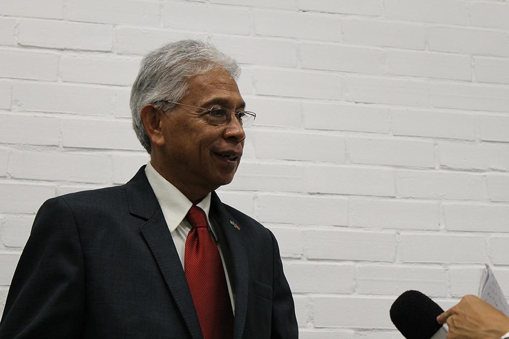 Embaixador do Timor-Leste Gregório Sousa (20/05/15)