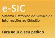 Link para e-SIC