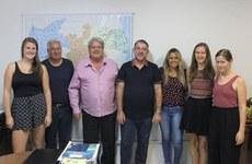 Discentes germânicas participaram de disciplinas, de projetos de extensão e realizaram estágio. Foto: Angélica Gouveia