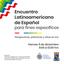 UFPB e PUCV - Encuentro Latinoamericano de Español para Fines Específicos.png
