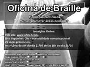 Curso de Braille 2018