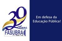 Frente a qualquer ameaça à Educação Pública e às instituições públicas de ensino, a FASUBRA sempre estará pronta a organizar o levante contra o retrocesso e em defesa da democracia.