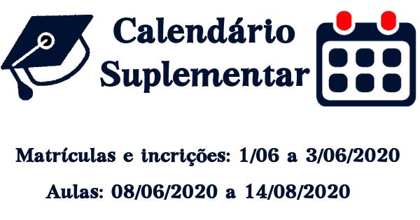Calendário Suplementar