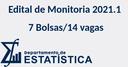 Edital de Seleção de Monitores - 2021