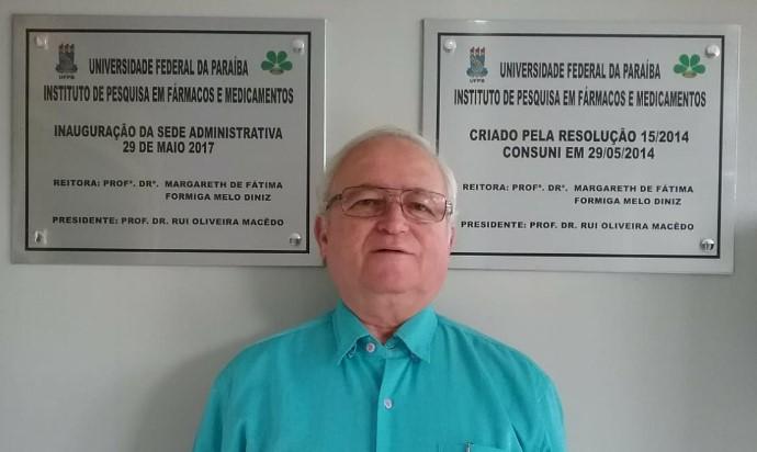 Professor Rui Macêdo