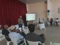 Na última sexta feira (01), o Polo Juá Caatinga realizou uma oficina de trabalho na cidade de Nova Palmeira