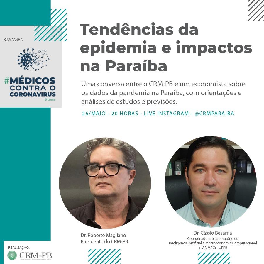 Nosso coordenador, Professor Dr. Cássio Besarria, falará um pouco sobre a situação do Covid-19 no Estado e suas consequências econômicas.