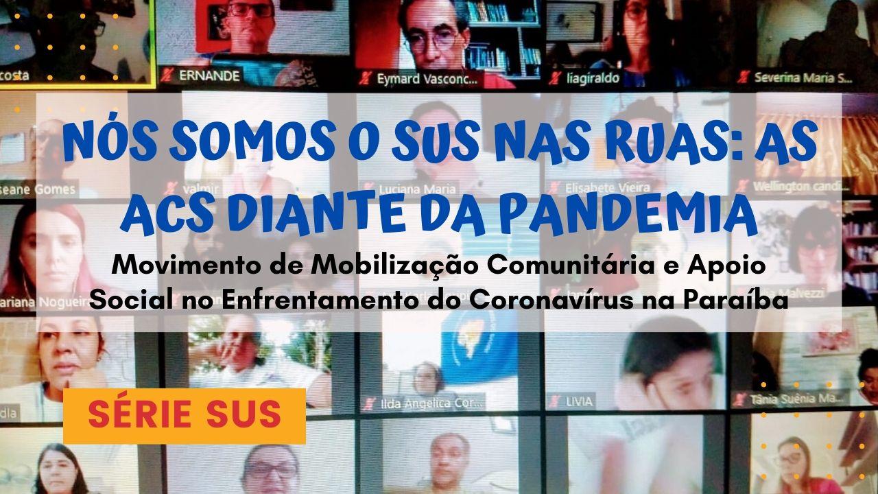 Este é o vídeo original do DEBATE on-line: NÓS SOMOS O SUS NAS RUAS: AS ACS DIANTE DA PANDEMIA. Conversamos sobre os caminhos do trabalho comunitário.