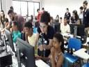 Curso de microinformática para jovens de 4 comunidades