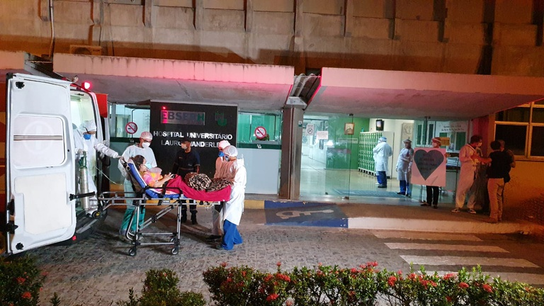 Amazonenses vão ficar internados na nova Ala Covid-19 do HULW. Foto: Oriel Farias