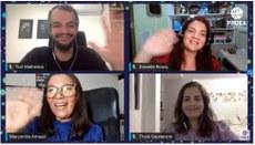 """Até esta quinta-feira (12), 351 projetos serão apresentados na modalidade """"e-tertúlia"""", que são transmissões ao vivo por meio de sala virtual na plataforma Google Meet. Crédito: Proex/UFPB"""