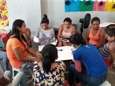 Um dos projetos do comitê oferta oficinas para mulheres quilombolas. Crédito: Divulgação
