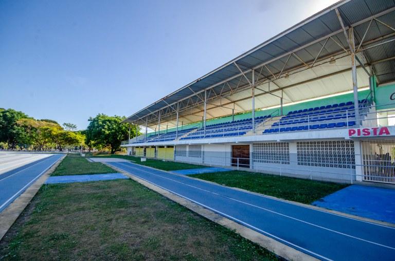 Pista de Atletismo UFPB    Foto: Angélica Gouveia